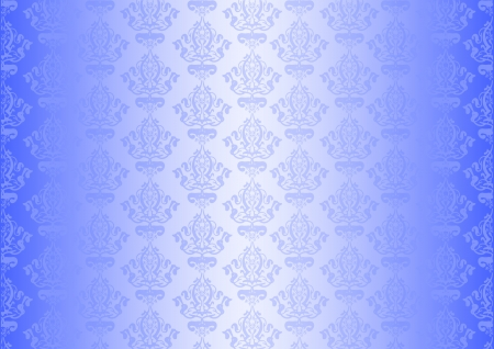 Vector blue wallpaper Stock Vector - 13620685