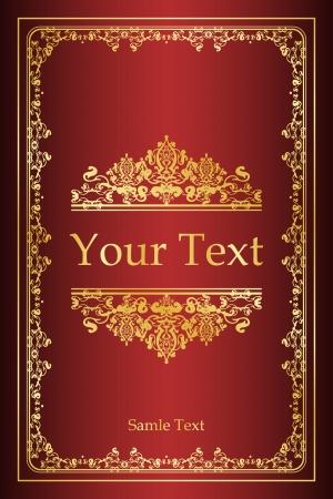 leeres buch: Buchcover - Jahrgang Hintergrund