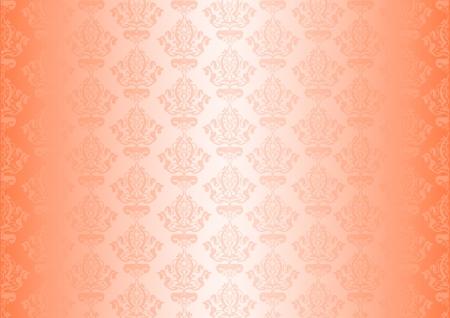 Vector peachy wallpaper Stock Vector - 13715913