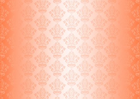 peachy: Vector peachy wallpaper Illustration