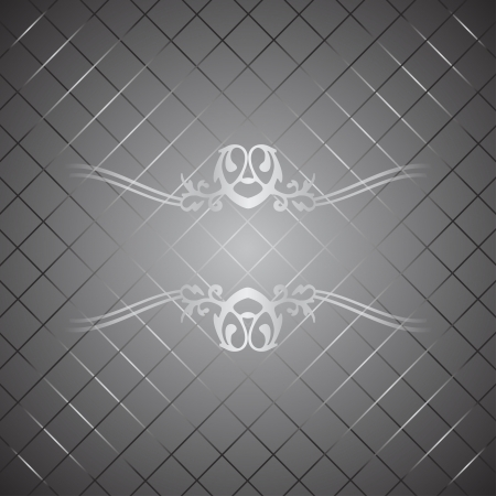 Vector silver luxury background Vector