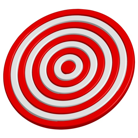 precisely: Vector illustration of target