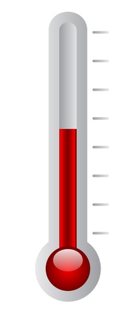 Vector illustration of thermometer Vector