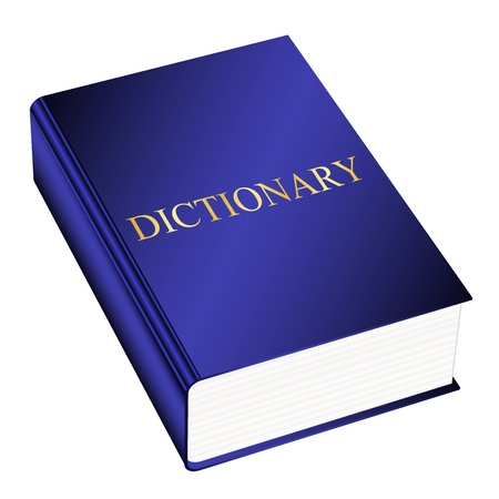 dictionaries: Vector illustration of dictionary