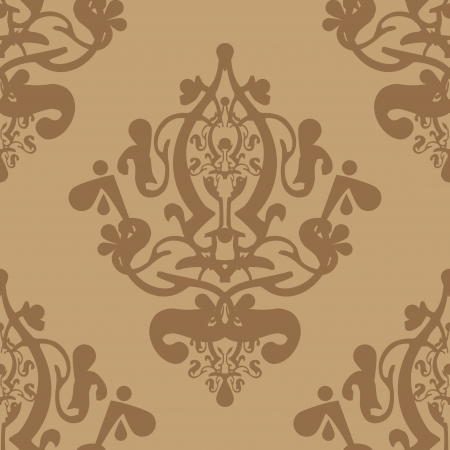 Vector beige wallpaper Stock Vector - 13834750