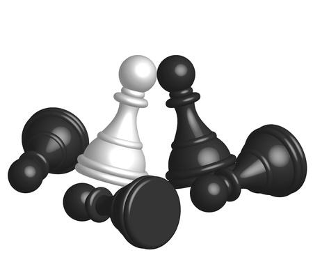 Battle - illustration Stock Vector - 13834815
