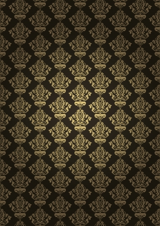 tapet: Vector illustration of brown luxury background