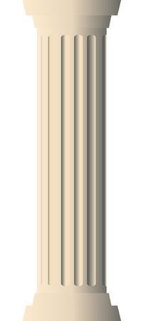 columna corintia: Ilustraci�n del vector de la columna