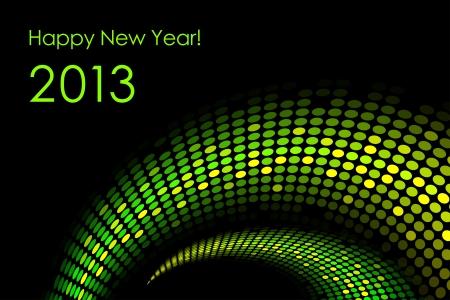Happy New Year Stock Vector - 14181516
