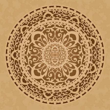 marokko: Vector illustratie van oosterse decoratie