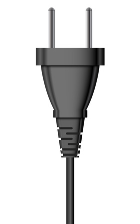 Vector illustration of electric plug Vector