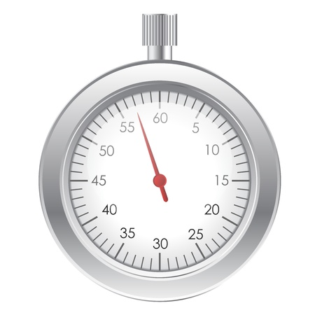 Vector illustration of stopwatch Vector