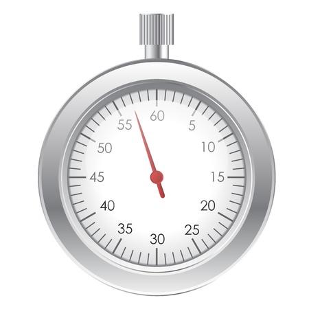 Vector illustration of stopwatch Vector