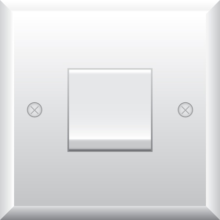 Vector illustration of  light switch  Vector