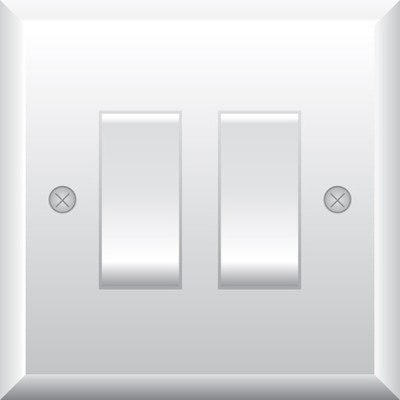 illustration of light switch Vector