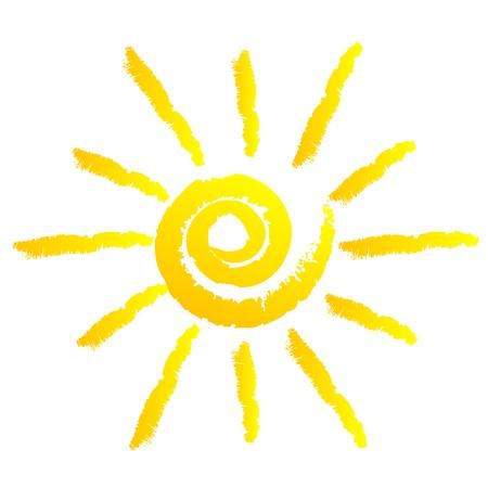sol caricatura: ilustración de sol