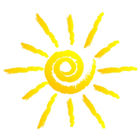 sol caricatura: ilustraci�n de sol