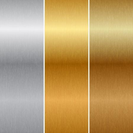 textures métalliques