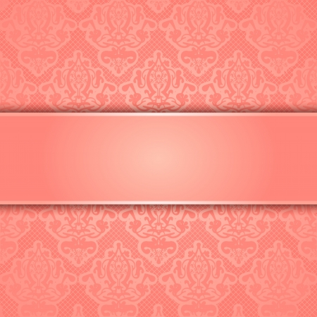 peachy: lace background