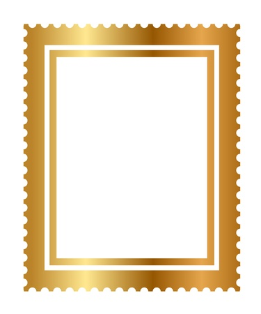 gold letters: illustration of isolated gold stamp