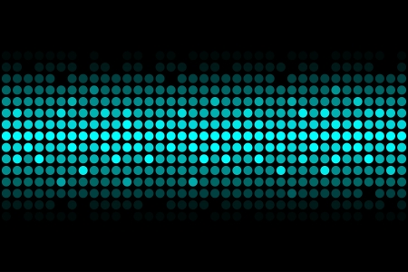 blue lights - vector abstract background Vector