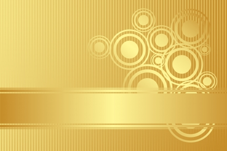 Vector gold background Vector