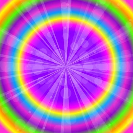 Vecteur de fond abstrait coloré