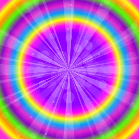 rainbow circle: Vector colorful abstract background