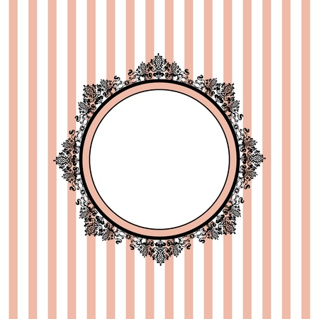 Vector pink striped background Vector