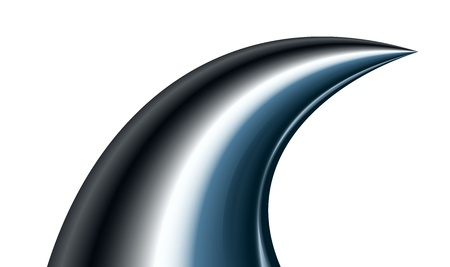 dorsal: Shark - ilustraci�n vectorial