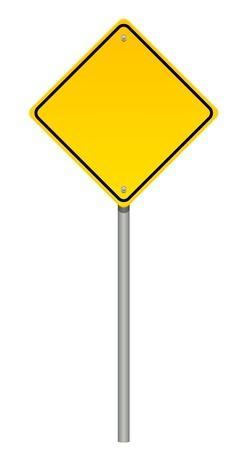 warning: Vektor-Illustration von Warnzeichen