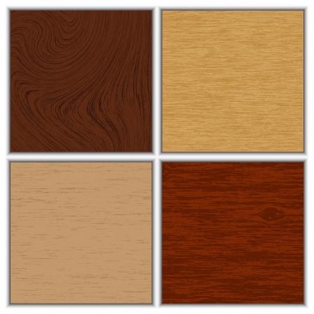 Vector illustration of wooden textures Stock Vector - 15211074