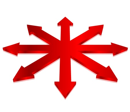 illustration of arrows Stock Vector - 15766398