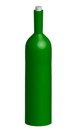 molotov: illustration of bottle