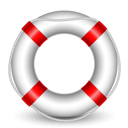 illustration de bouée de sauvetage Vecteurs
