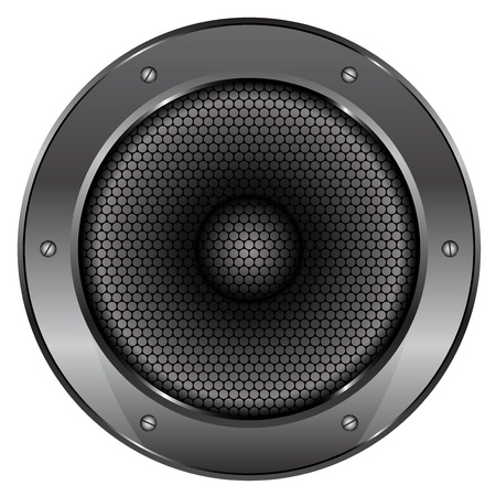 illustration of Sound Speaker Vector