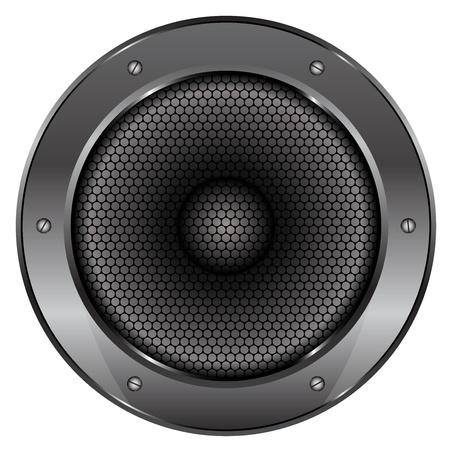 sub woofer: illustration of Sound Speaker Illustration