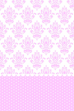 fuchsia flower:  pink and white wallpaper
