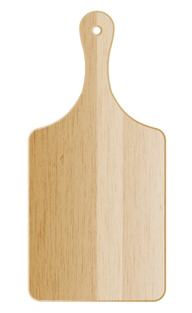 timber cutting: illustration of cutting board