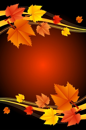 autumn background Stock Vector - 16196207