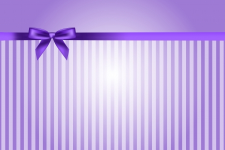 purple ribbon: purple background with bow