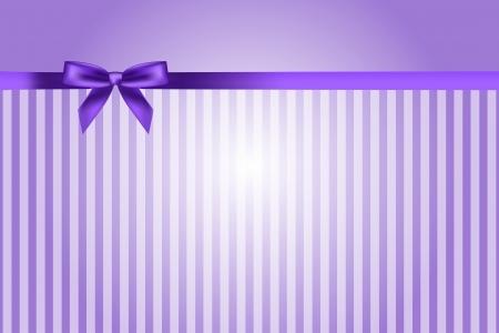porpora: sfondo viola con fiocco