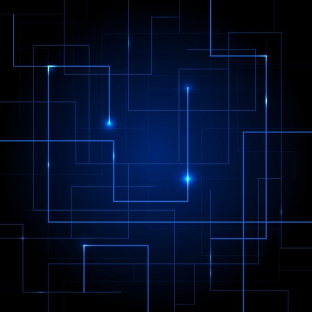 high speed internet: Vector Circuit Board abstract background