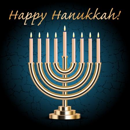 jewry: Happy Hanukkah card