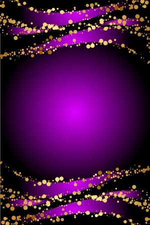 Luxury purple Christmas background Stock Vector - 16330948