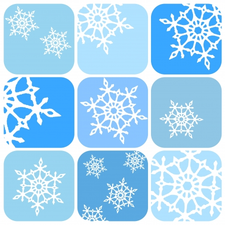 Vector snowflakes pattern Stock Vector - 16330911