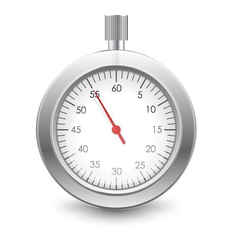 Vector Illustration of stopwatch Stock Vector - 16331036