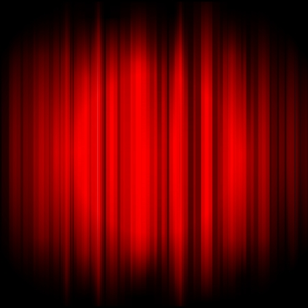 red curtain: Vector red background Illustration