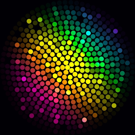 Colorful lights - vector abstract background Stock Vector - 17414370
