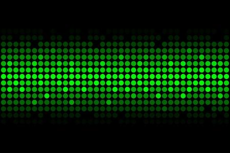 glisten: Вектор абстрактного фона - зеленый свет